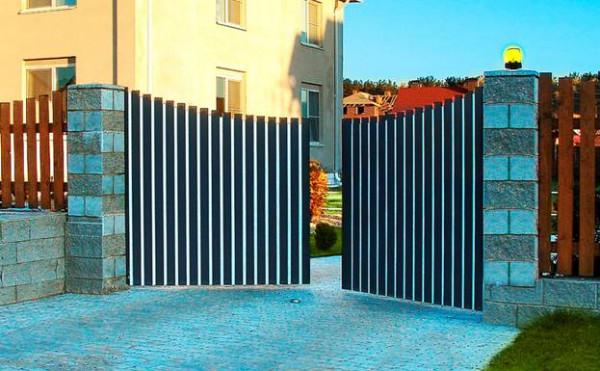 Знакомство с механизмом распашных ворот