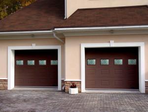 Виды управления гаражными секционными воротами